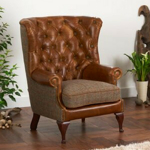 The Len - A Classic Wing Wrap Armchair