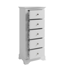 Wilton 5 Drawer Narrow Chest