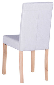Straight Back Fabric Chair - Range of Colours