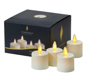 Luminara votive Candles - Set of 4