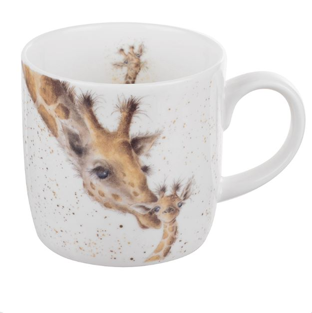 First Kiss - Giraffe Mug