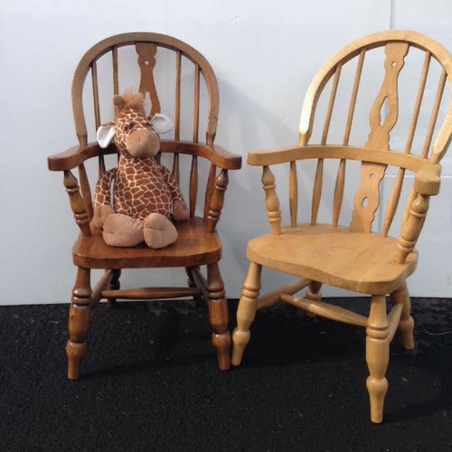 Oak Windsor Childs Chair