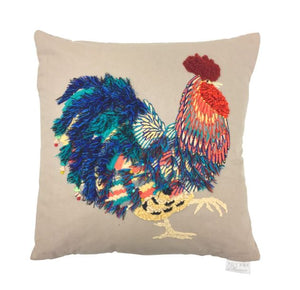 Posing Prince Cockerel Cushion