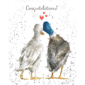Congratulations Wrendale designs - card