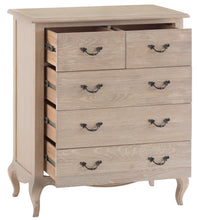 French Country 2 Over 3 Chest