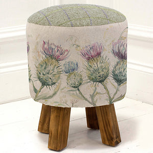 Thistle Glen Footstool