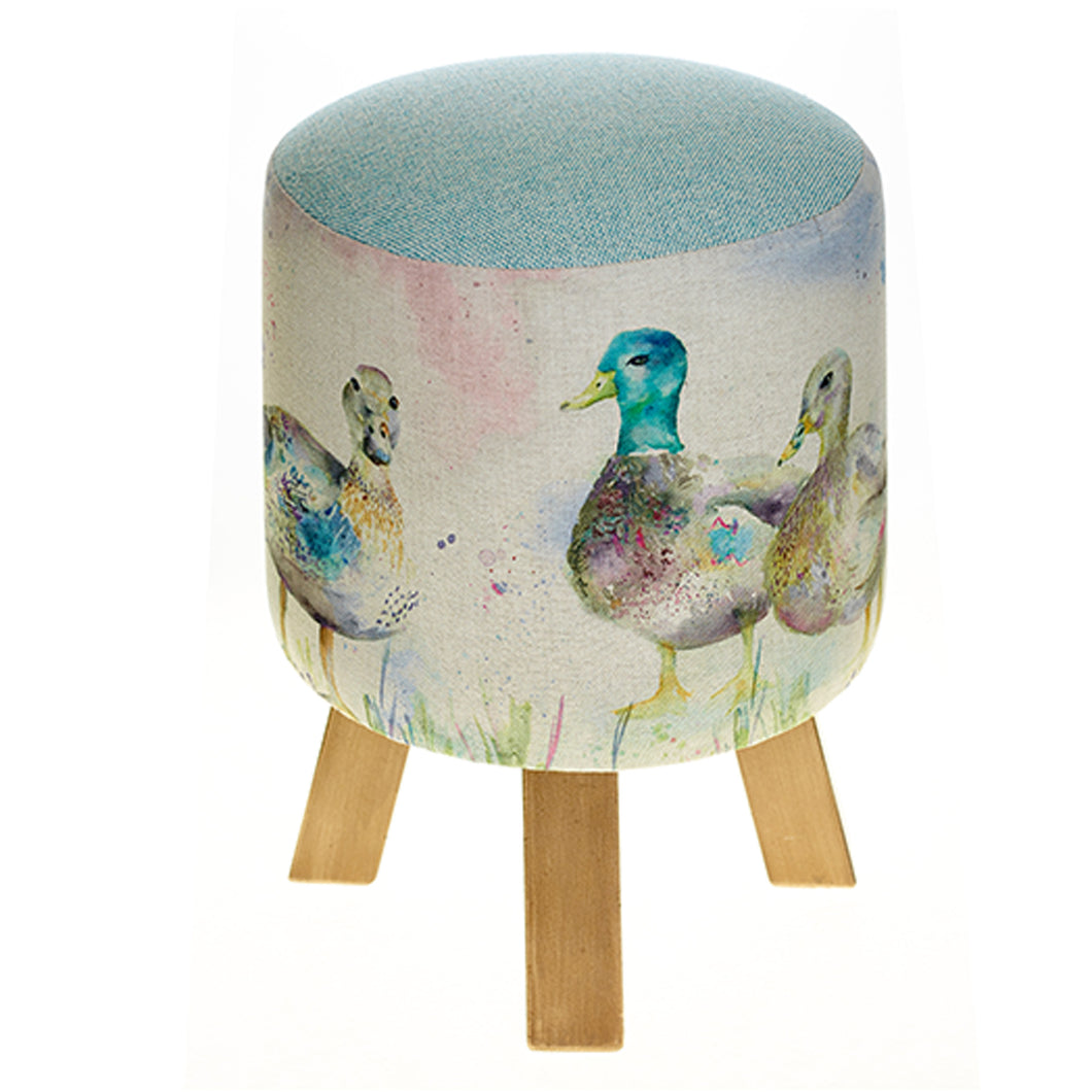 Darling Ducks Footstool