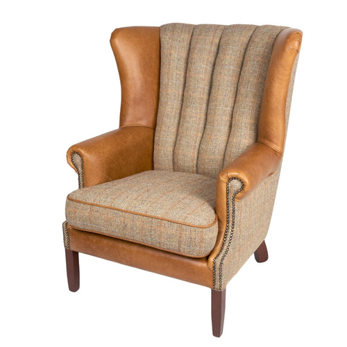 The Gregory Beautiful Fluted Armchair