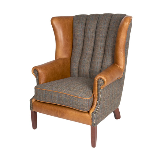The Gordon Fluted Wing Armchair
