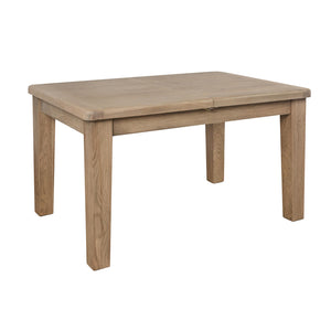 Hodsow Oak Dining Table - 1.3m/1.8m Extender