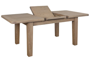 Hodsow Oak Dining Table - 1.8m/2.3m Extender