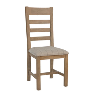 Hodsow Oak Dining Chair - Seat Options