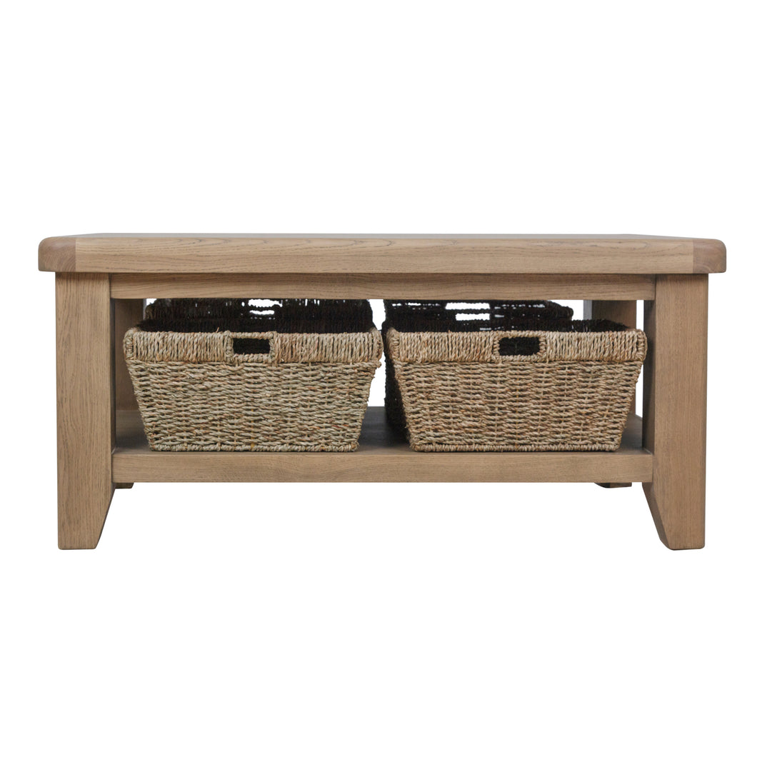 Hodsow Oak Coffee Table