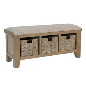 Hodsow Oak Hall Bench