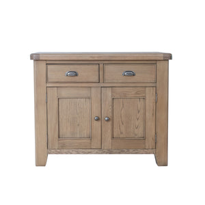 Hodsow Oak 2 Drawer, 2 Door Sideboard