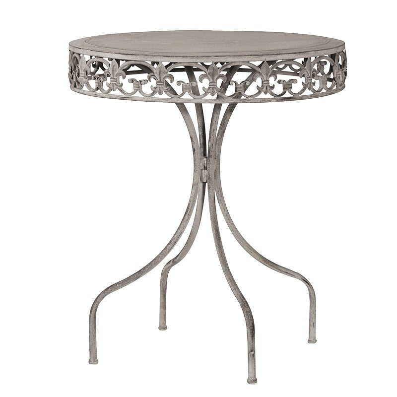 Grey Wash metal table