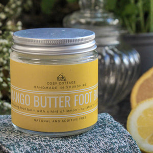 Mango butter & Lemon Foot balm