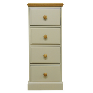 Country 4 Drawer Narrow Chest