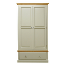 Country 2 Door 1 Drawer Wardrobe