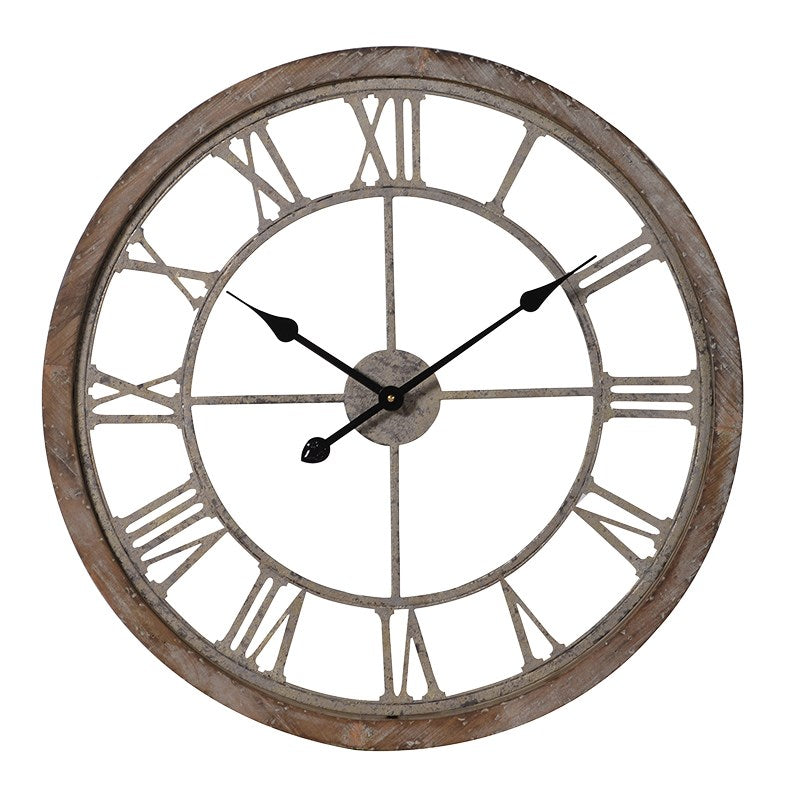 Cut out Skeleton Wall Clock