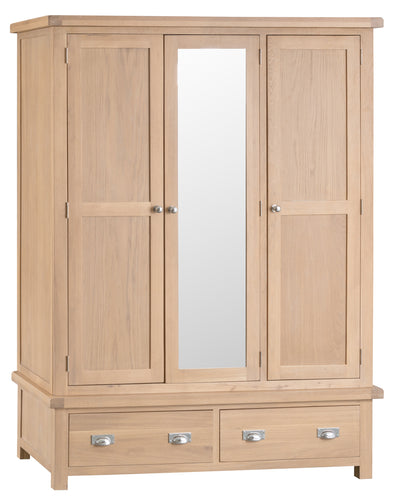 Londesborough 3 Door Wardrobe with Mirror