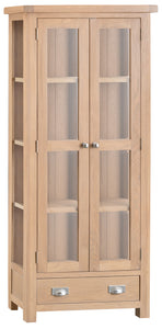 Londesborough Display Cabinet with Glass Doors