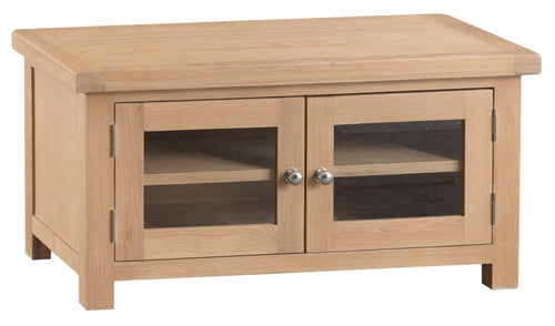 Londesborough Standard TV Unit with Glazed Doors