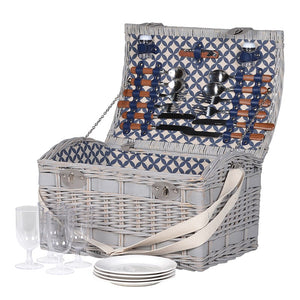 4 Person Picnic Basket