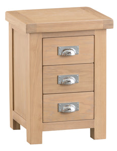 Londesborough Large 3 Drawer Bedside