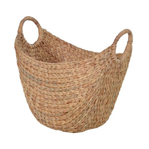 Large Round Basket with Handles