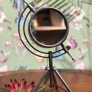 Small Industrial Mirror on Tripod
