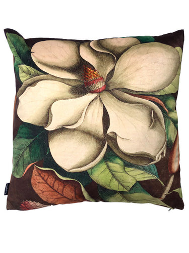 Magnolia Velvet cushion