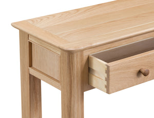 Nordic Oak Living Console Table