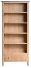 Nordic Large Bookcase - Oak or Painted