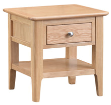 Nordic Lamp Table - Oak or Painted