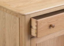 Nordic Oak Living Small Sideboard