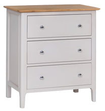 Nordic Bedroom 3 Door Chest - Oak or Painted