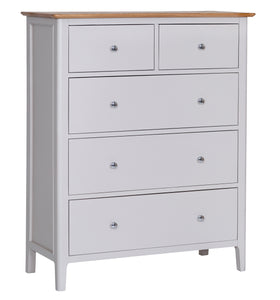 Nordic Bedroom Jumbo 2 Over 3 Chest