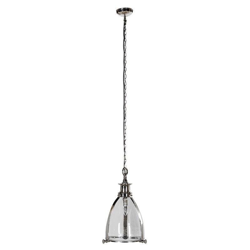 Glass Dome Pendant Light