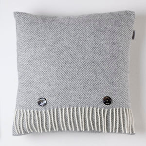 Parquet Grey Cushion