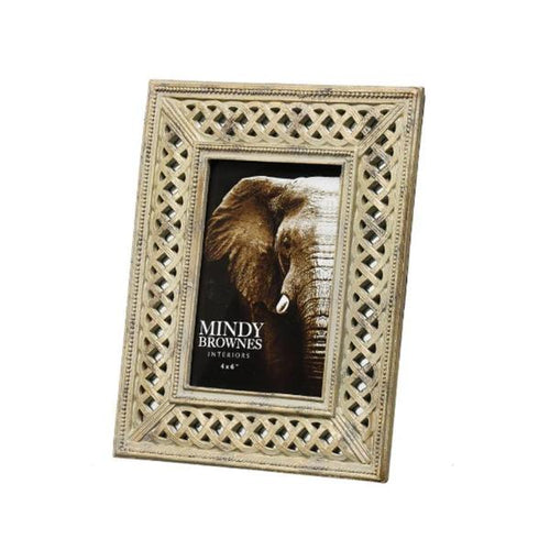4'' x 6'' Gold Photoframe