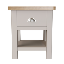 Dove 1 Drawer Lamp Table