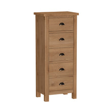 Rowan 5 Drawer Narrow Chest