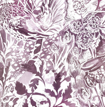 Rothesay Cerise Wallpaper - 4 Colours