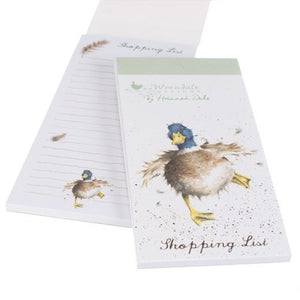 'A Waddle & A Quack' Magnetic Shopping Pad