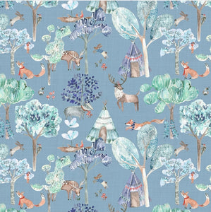Woodland Adventures Wallpaper - 4 Colourways