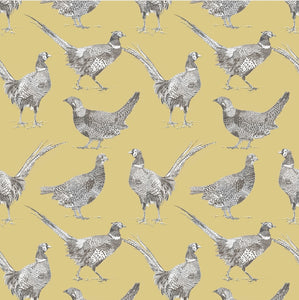 Pheasant fabric - 6 Colours