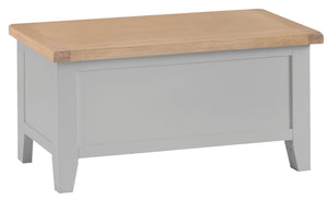 Thornby Blanket Box - in White or Grey