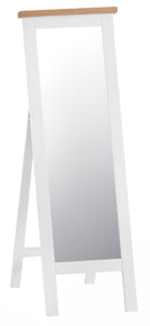 Thornby Cheval Mirror - in White or Grey
