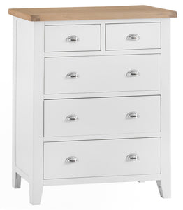 Thornby Jumbo 2 Over 3 Chest - in White or Grey